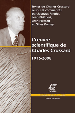 L'oeuvre scientifique de Charles Crussard 1916-2008-0