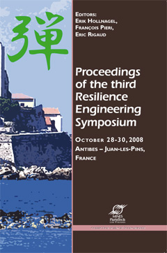Proceedings of the third resilience engineering symposium-0